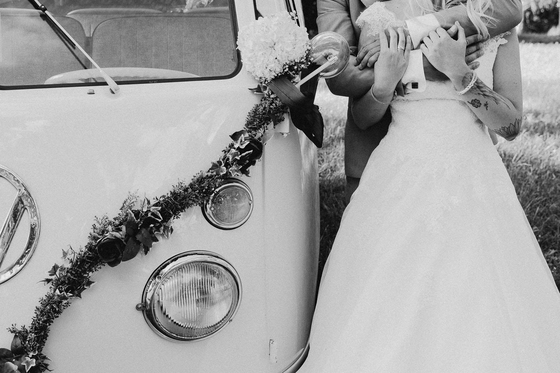 Hochzeit mit Bulli